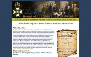Cherokee Chapter – Sons of the American Revolution